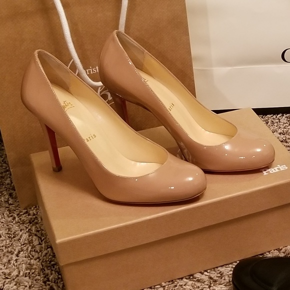 new product f334f cee6e Christian Louboutin Simple Pumps Size 37 100mm Boutique